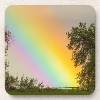 End Of The Rainbow Pot Of Gold Coaster
