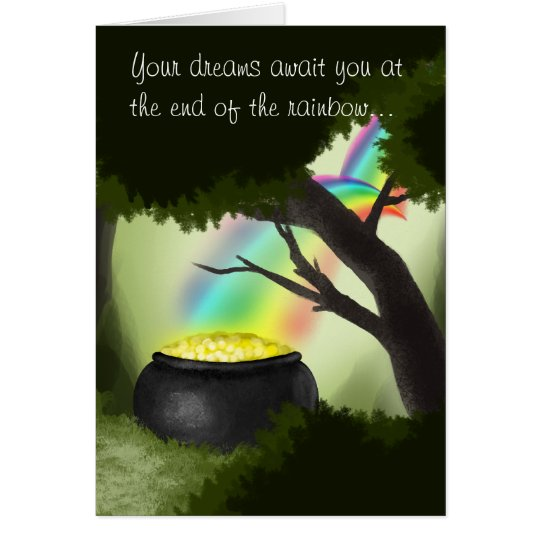 End of the Rainbow St. Patrick's Day Card