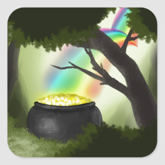 End of the Rainbow Stickers