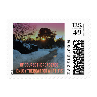 End of the Road Postage
