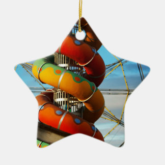 End of the Summer Ceramic Ornament