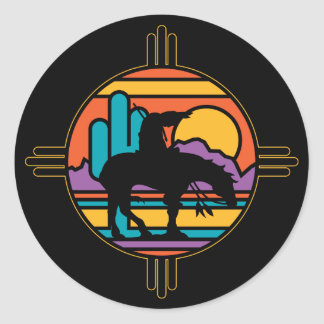 End of the Trail Classic Round Sticker
