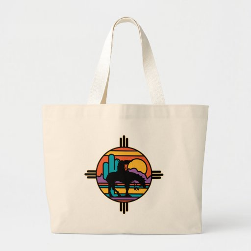 End of the Trail Jumbo Tote Bag