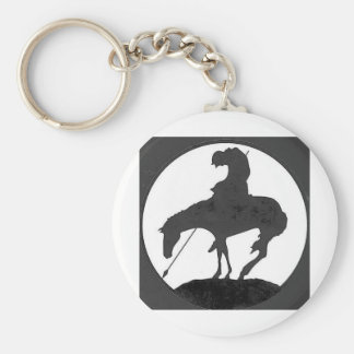 End of the Trail Keychain
