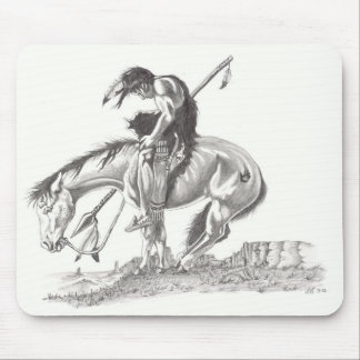 End of the Trail Mouse Pads