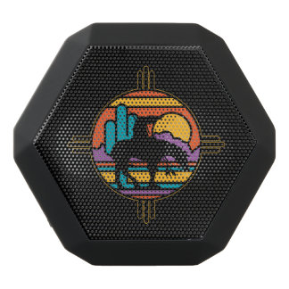 End of the Trail Native American Indian Black Bluetooth Speaker
