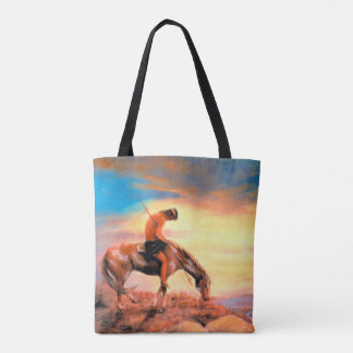 End of the Trail Native American Tote Bag