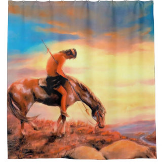 End of the Trail Shower Curtains Shower Curtain