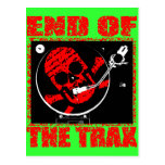 END OF THE TRAX POST CARD