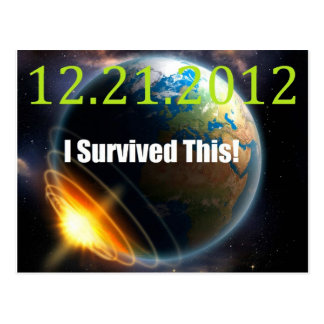 end of the world 2012 postcard