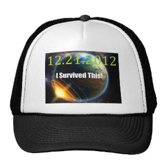end of the world 2012 trucker hat