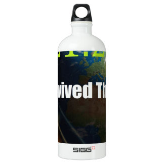 ENd of the world Aluminum Water Bottle