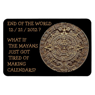 END OF THE WORLD AS WE KNOW IT? RECTANGULAR PHOTO MAGNET