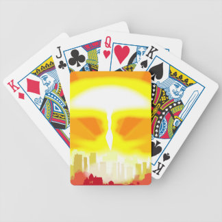 End of the World Bicycle Playing Cards