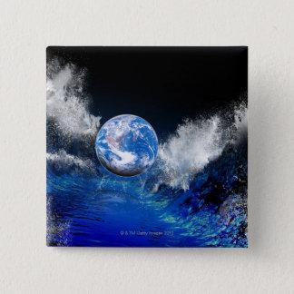 End of the World, conceptual computer artwork Button