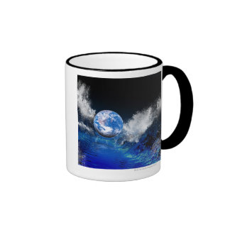End of the World conceptual computer artwork Coffee Mugs