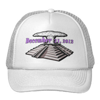 End Of The World  - December 21, 2012 Mesh Hat