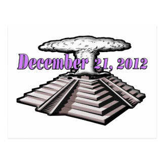 End Of The World  - December 21, 2012 Postcard