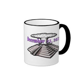 End Of The World  - December 21, 2012 Ringer Coffee Mug