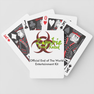 End of The World Entertainment Kit Bicycle Playing Cards