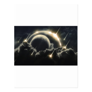 End of the World, Impact meteorite Postcard