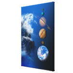End of the World in 2012 conceptual computer Stretched Canvas Prints