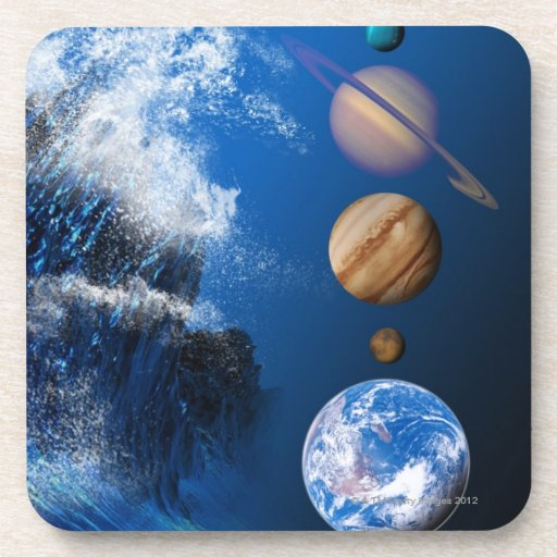 End of the World in 2012 conceptual computer Drink Coasters