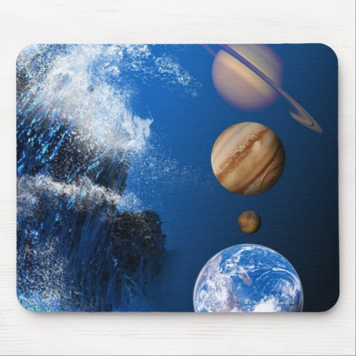 End of the World in 2012 conceptual computer Mouse Pad