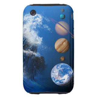 End of the World in 2012 conceptual computer Tough iPhone 3 Cover