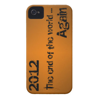 End of the World iPhone 4 Barely There Case