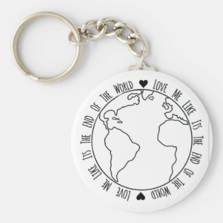 End Of The World Keychain