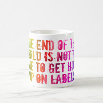 End of the World/LGBT mug