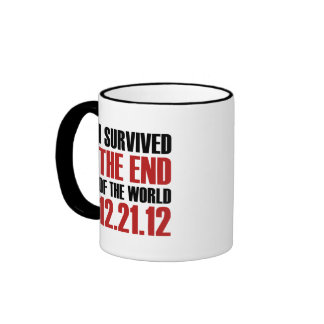 End of the World Ringer Coffee Mug