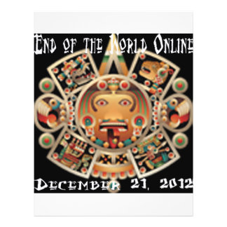 End of the World Online Full Color Flyer