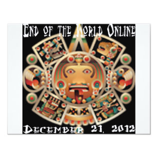 End of the World Online Personalized Invite