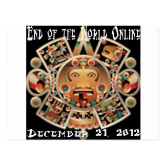 End of the World Online Postcard
