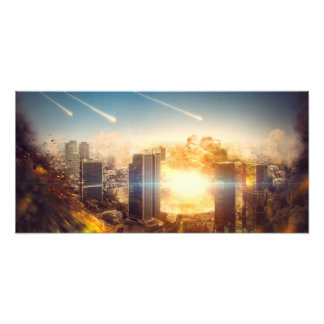 End of the world photo print