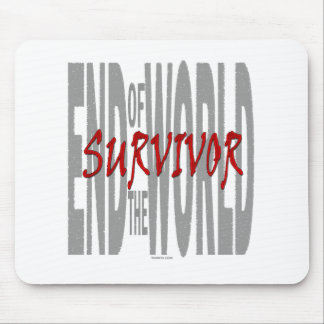 End of the World Survivor Mouse Pad