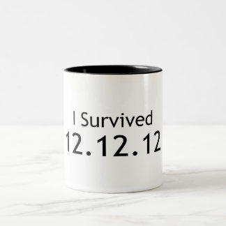 End of the World Two-Tone Coffee Mug
