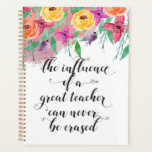 End of the year teacher gift Happy teacher's day Planner