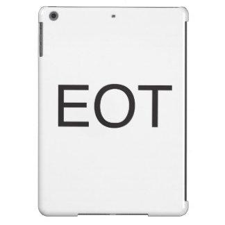 end of thread.ai iPad air case