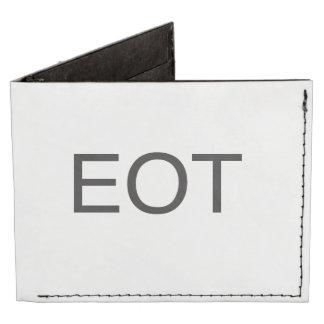 end of thread.ai tyvek® billfold wallet