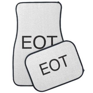 end of thread.ai car mat