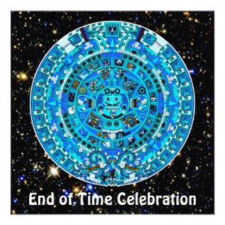End of Time December 21 2012 Party Celebration Custom Invitation