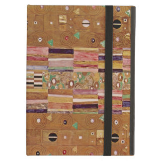 End of Wall, Stoclet Frieze, Klimt, Mosaic Pattern iPad Air Covers