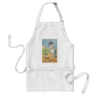 end of war adult apron