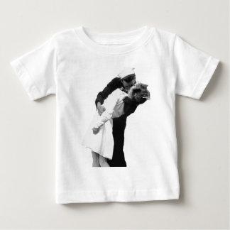 End of War Kiss Baby T-Shirt