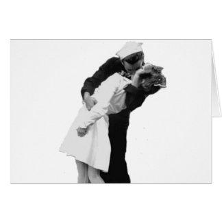 End of War Kiss Card