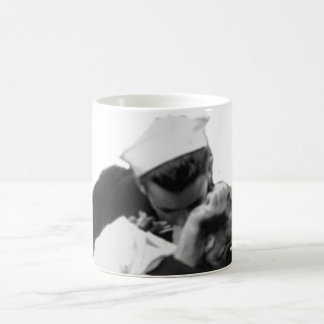 End of War Kiss Classic White Coffee Mug