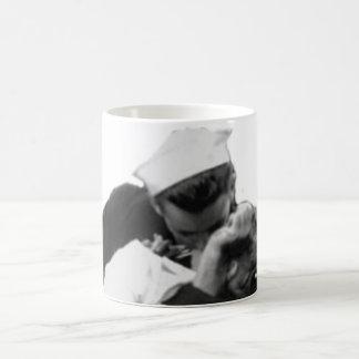 End of War Kiss Mugs